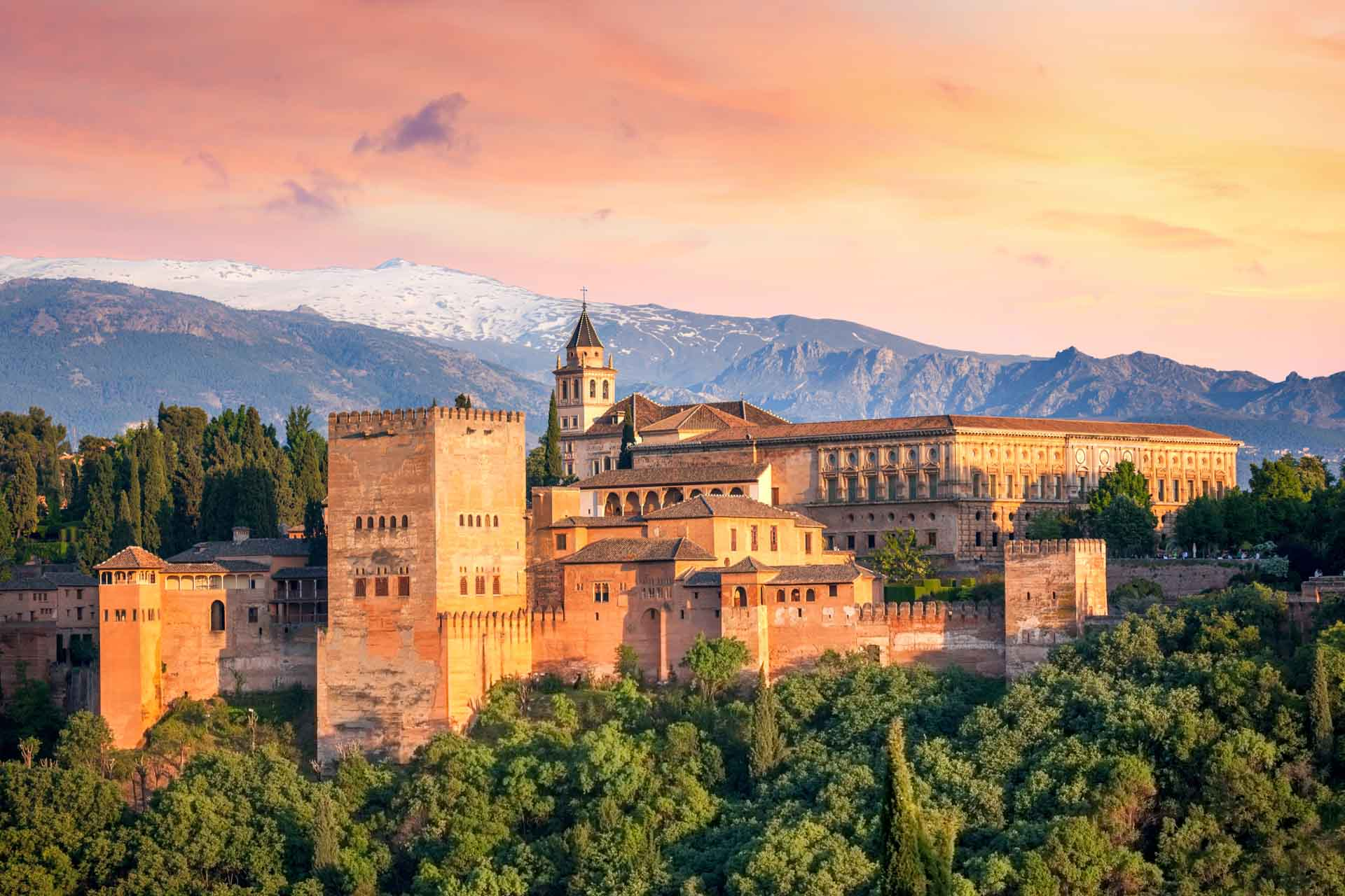 Alhambra Andalusie