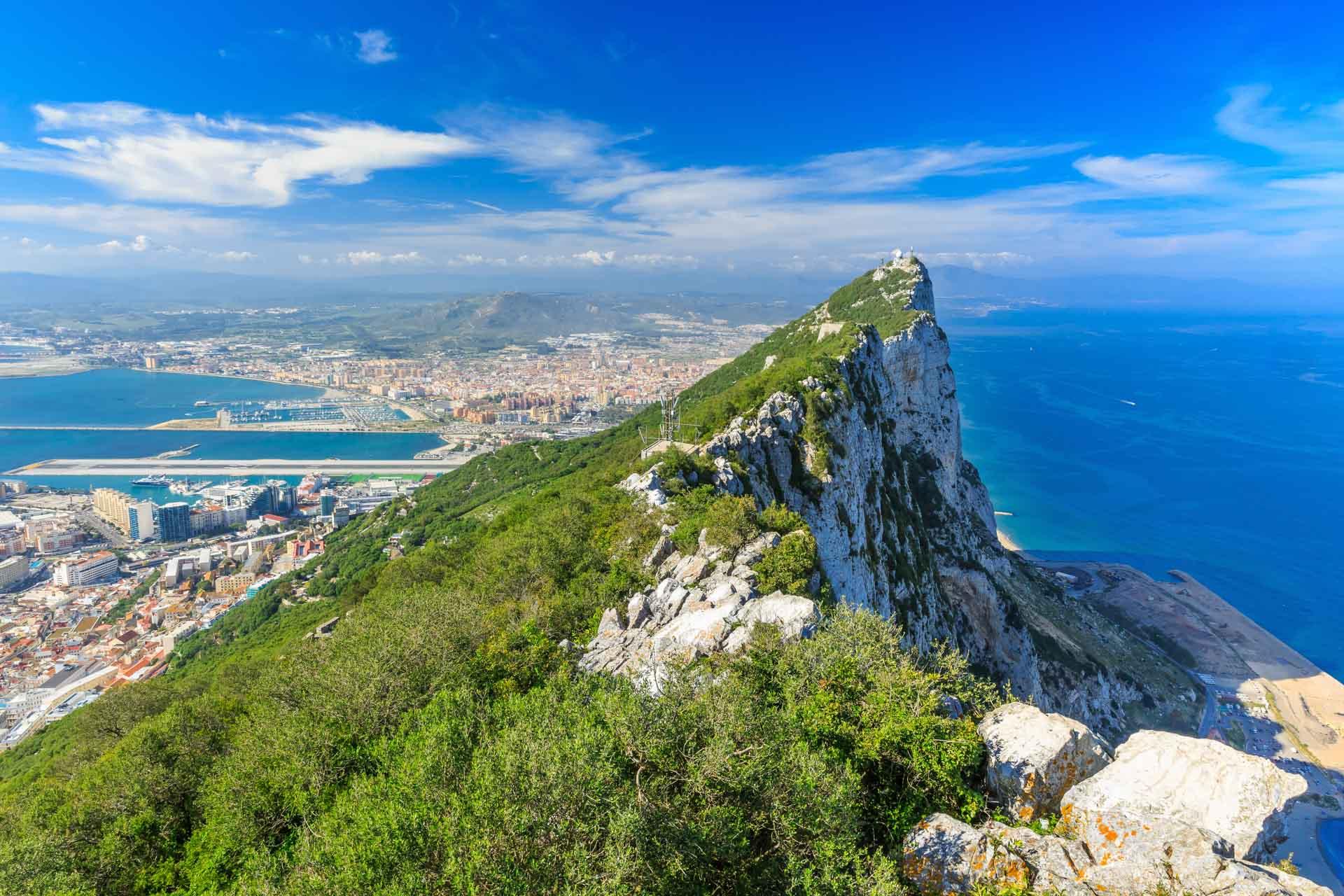 Bergen in Gibraltar