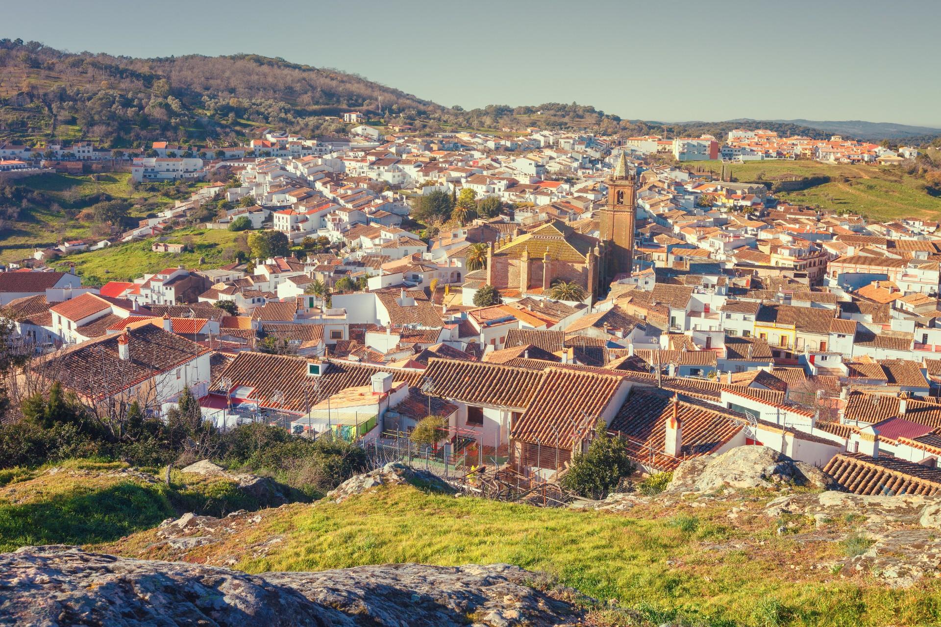 Cortegana Zuid Spanje
